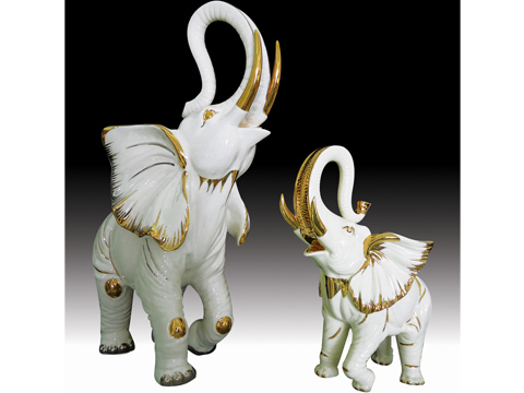 Auspicious Elephant For Uses In Fengshui In Attracting